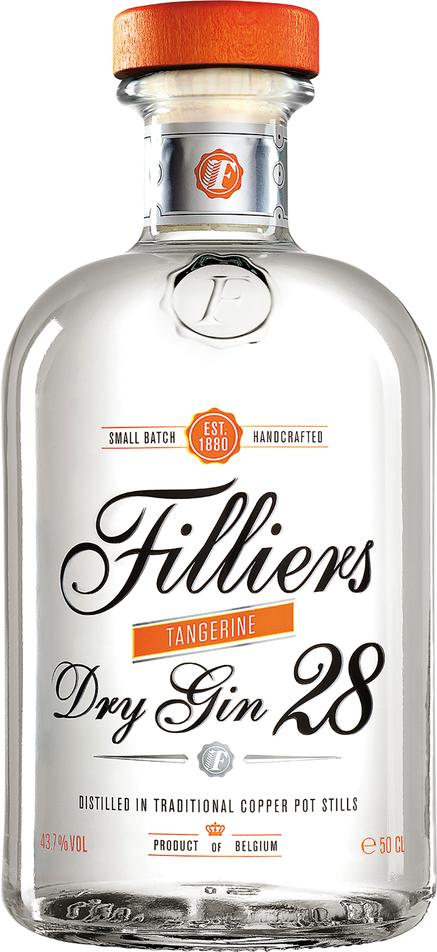 Filliers Dry Gin 28 - Tangerine