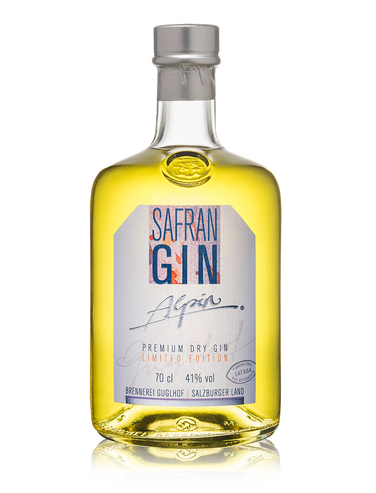 Guglhof Gin Alpin - Safran - Limited Edition