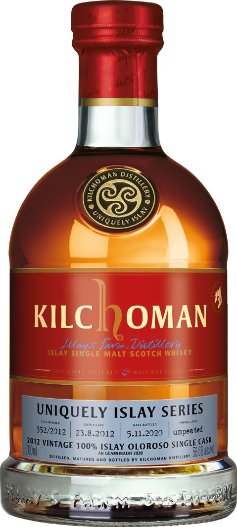 Kilchoman Uniquely Islay An Geamhradh 2020 100% Islay Unpeated