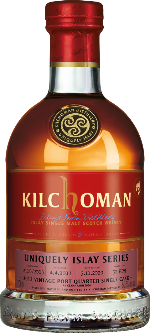 Kilchoman Uniquely Islay An Geamhradh 2020 Port Quarter Cask